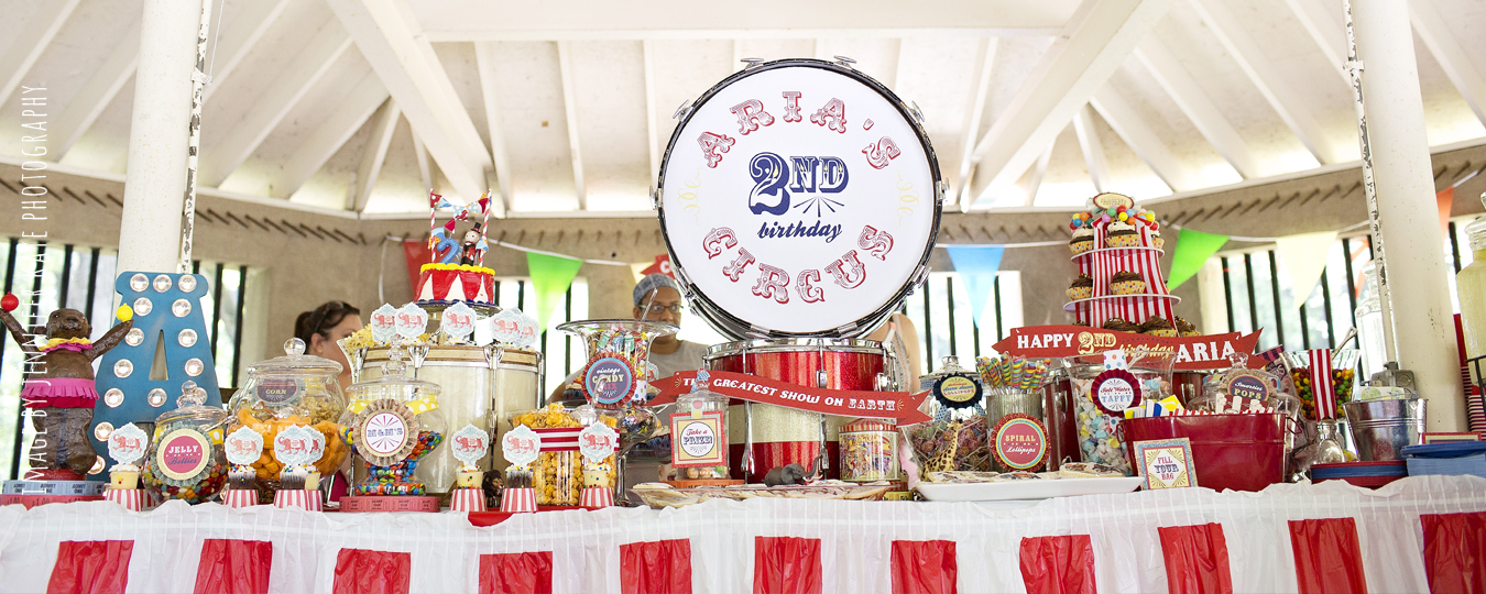 Vintage Circus 2nd Birthday Party | Geneva Party Planner