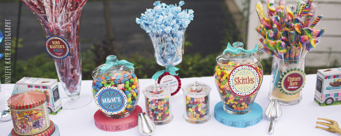 Vintage Circus 1st Birthday Party | Naperville Party Planner