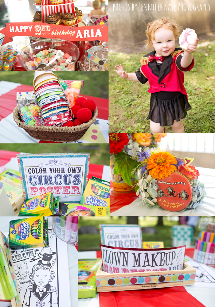 circus party details