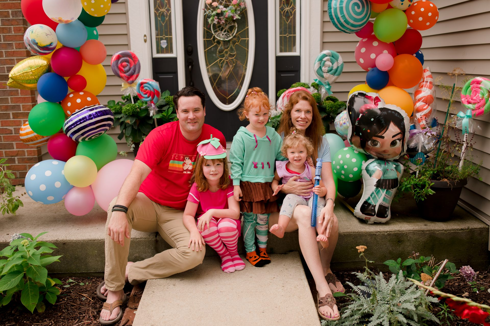 Wreck it Ralph-themed Sugar Rush Birthday | Jennifer Kaye Photography