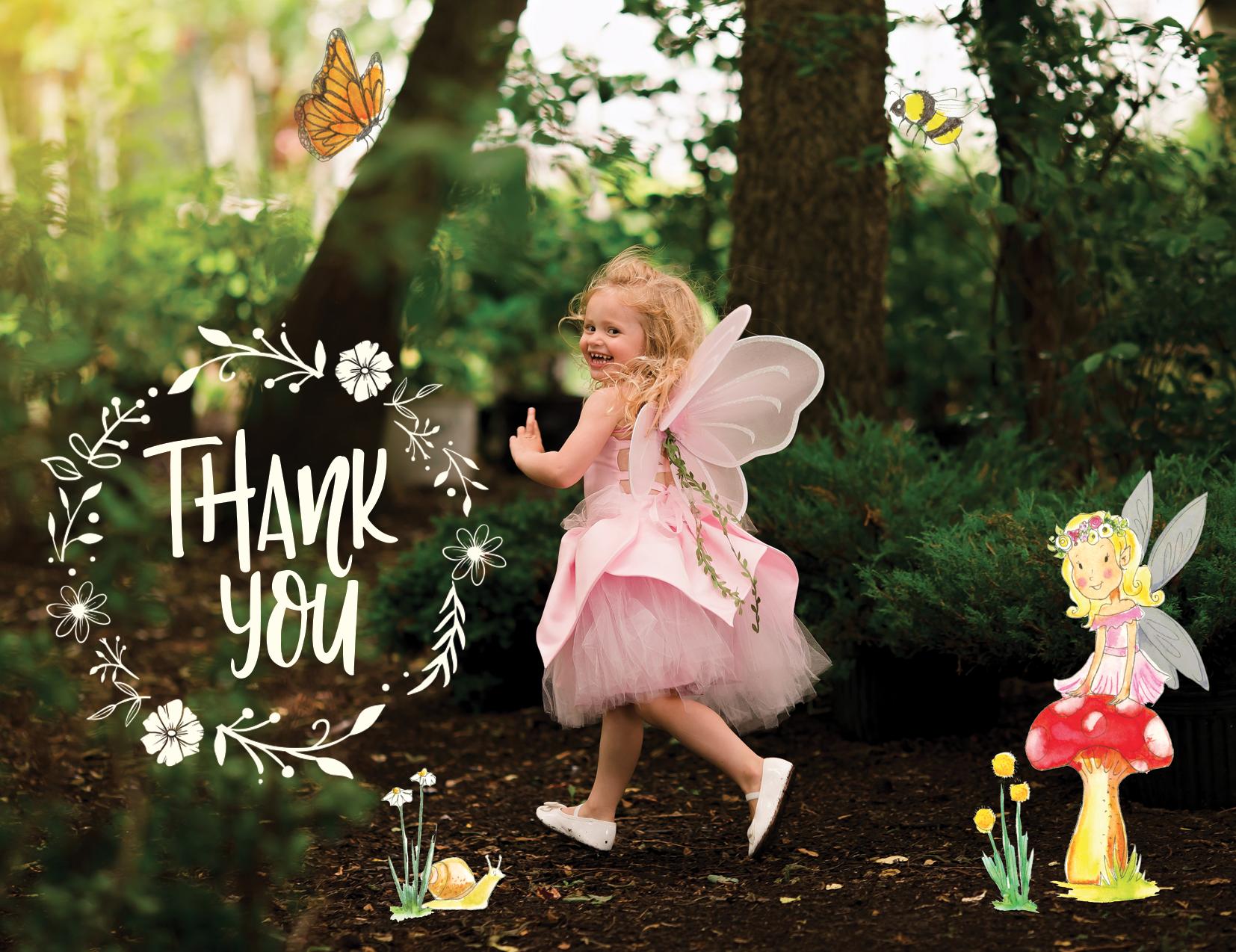 Fairy-themed Outdoor Birthday Party | Jennifer Kaye Photography