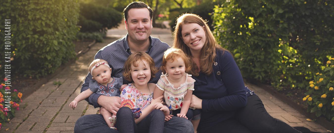 Annual Family Photos with Jennifer Kaye Photography | Cantigny Park Family Photos